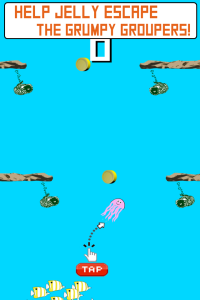Jelly Up - Flappy Fish Nightmare Crush