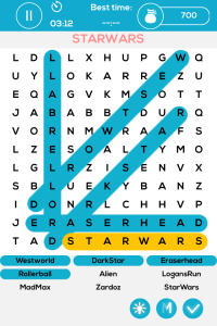 Sci_Fi Movie Word Puzzle - Free